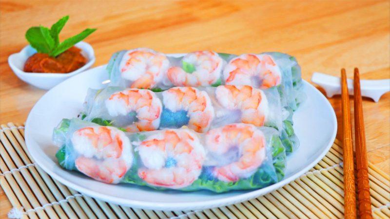 【美食天堂】越南春捲 |夏日完美食譜|家常料理食譜 一學就會