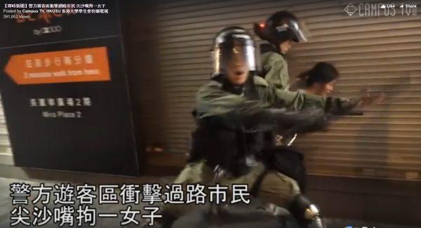 港警滥捕:扑过路少女再施性暴力 13岁女生返校也被拘
