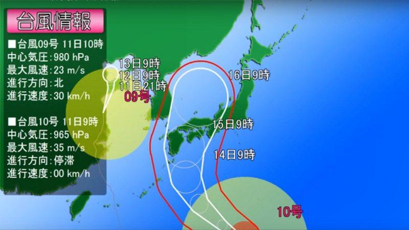 具危險三要素 颱風柯羅莎15日恐襲日