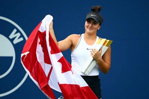 羅傑斯盃網賽 小威傷退 加拿大新星奪冠