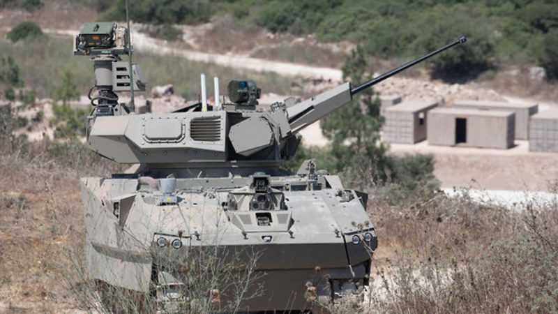以色列研發未來坦克 可進行城市巷戰