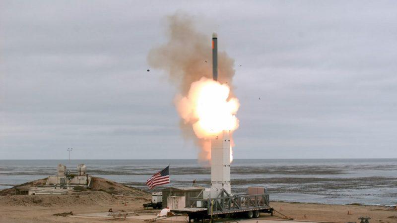 退出中程核彈條約 美首次試射巡弋飛彈