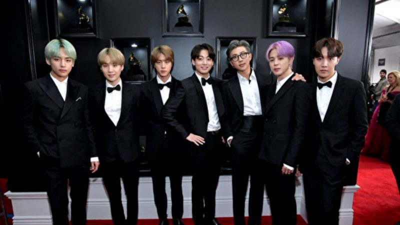 BTS获Newsis韩流大奖 入围美国MTV最佳团体