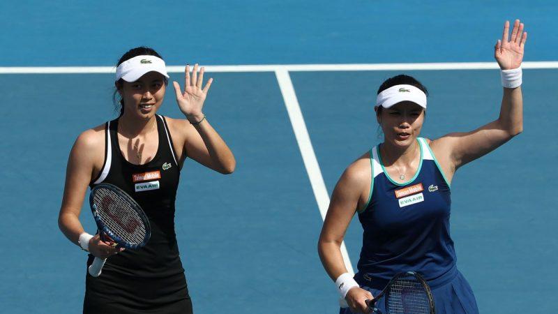 纽约网球公开赛 詹家姊妹一盘未失晋四强