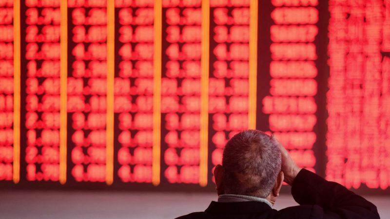 資金大量出逃 中國股市單月流失29億美元