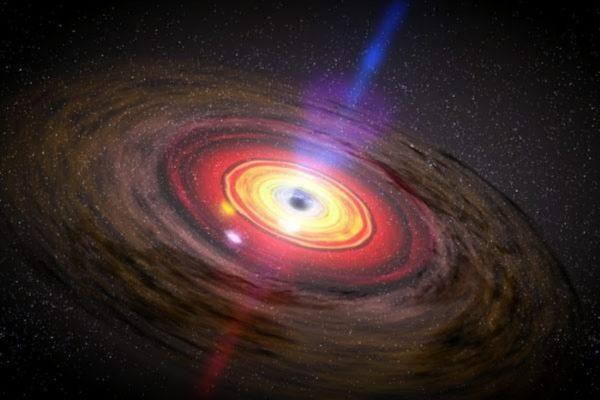 宇宙灾难性事件 黑洞吞噬中子星首次被发现
