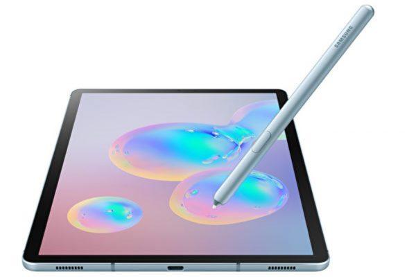 三星挑戰iPad Pro 高端版Galaxy Tab S6亮相