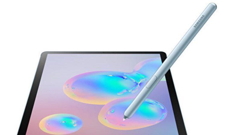三星挑战iPad Pro 高端版Galaxy Tab S6亮相