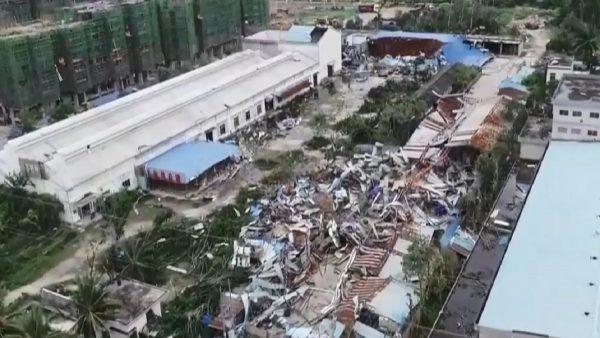 強龍捲風夜襲海南 釀至少8死2傷