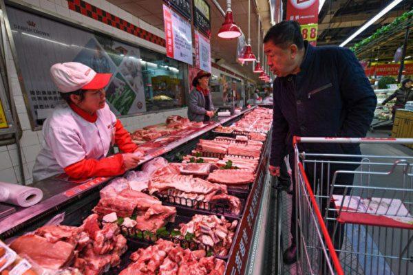 限制進口加非洲豬瘟 中國豬肉價年漲75%