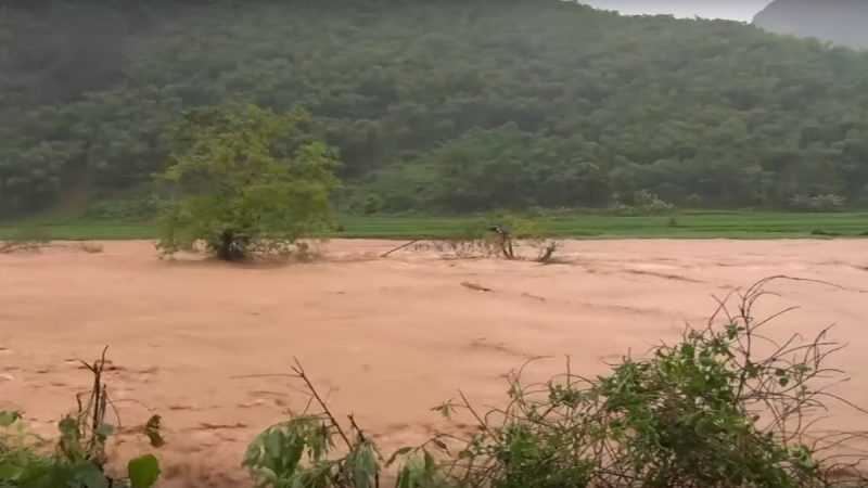 颱風薇帕環流暴雨 越南釀災5死13失蹤