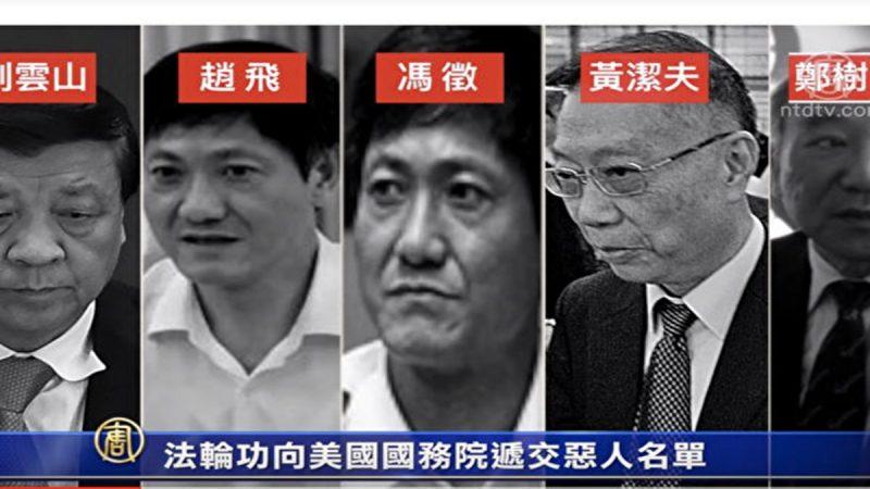 天津常委赵飞上美国务院审查迫害者名单