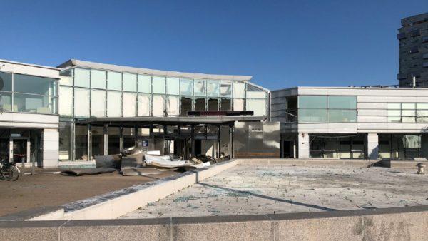 哥本哈根税务局办公室大爆炸 列车曾停驶无人伤