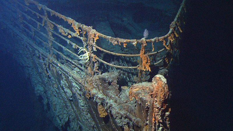 回归自然 泰坦尼克号沉没海底逾百年迅速腐化
