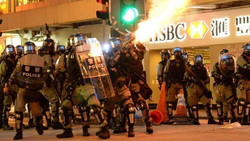 港警暴力升級如中共武警 無差別攻擊惹質疑