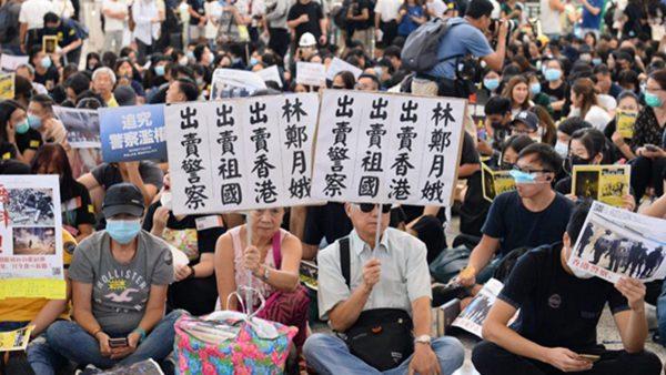 文睿:林郑月娥和港警或被北京牺牲掉 共军入港 民众或已有了对策 声援大纪元记者柯婷婷