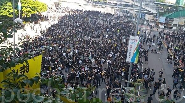 夏小強:香港抗共風暴升級 中共走向不歸路