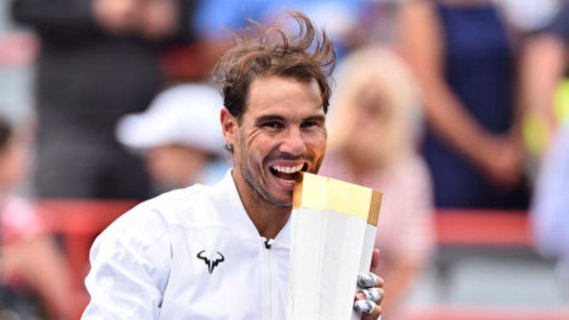 纳达尔5夺罗杰斯杯 再创大师赛冠军新纪录