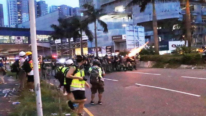 反送中快闪转移阵地示威 11日两场游行受关注