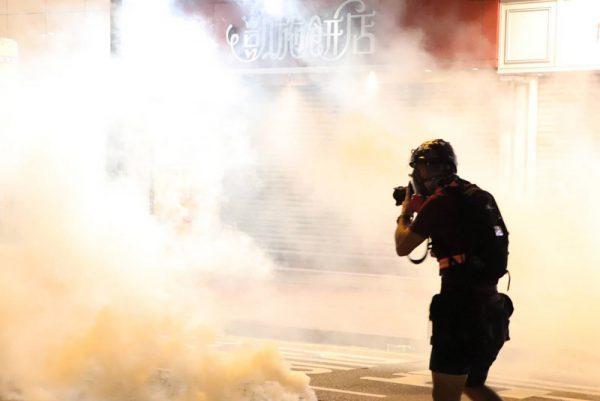 【美麗日報】811黑暗籠罩香港 局勢不排除再上升