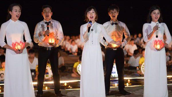 用歌声呼唤正义——越南法轮功学员举办反迫害二十周年纪念活动