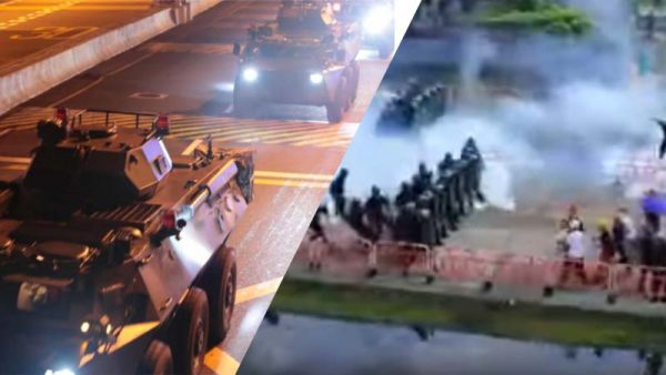 中共文攻武嚇升級 香港抗爭走到臨界點?