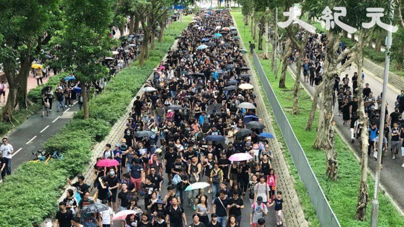 【新闻拍案惊奇】香港721中联办示威 + 元朗白衣人打人事件 + 43万人游行