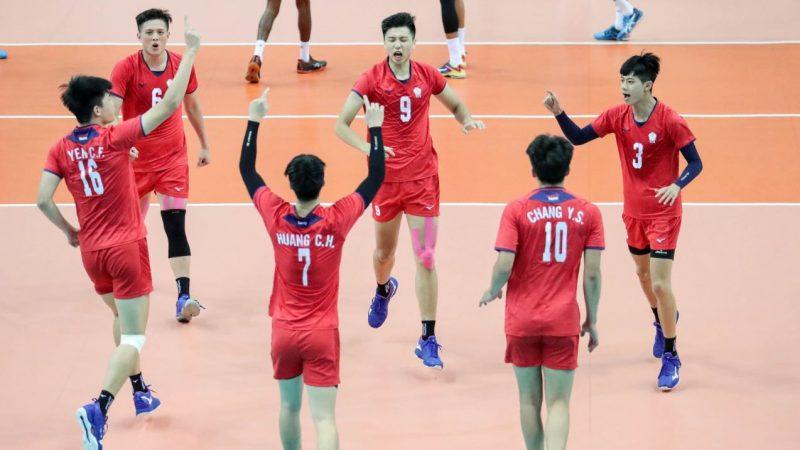 U23男排亞錦賽 台中華隊奪冠破隊史紀錄