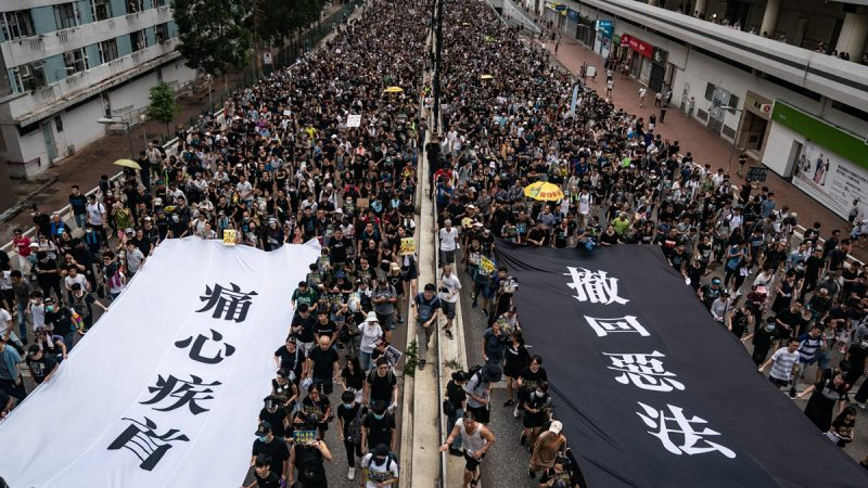 香港大抓捕 民陣「831」遊行被取消