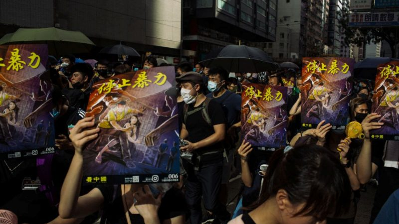 犹如平行时空 北京版香港故事为何与全世界不同