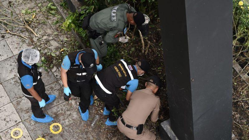 曼谷連環爆 犯嫌放爆裂裝置影像曝光