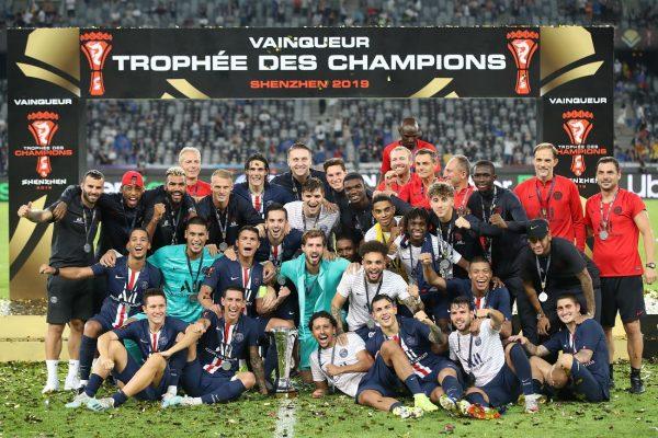 法國超級盃 巴黎聖日耳曼勝雷恩 獲七連冠