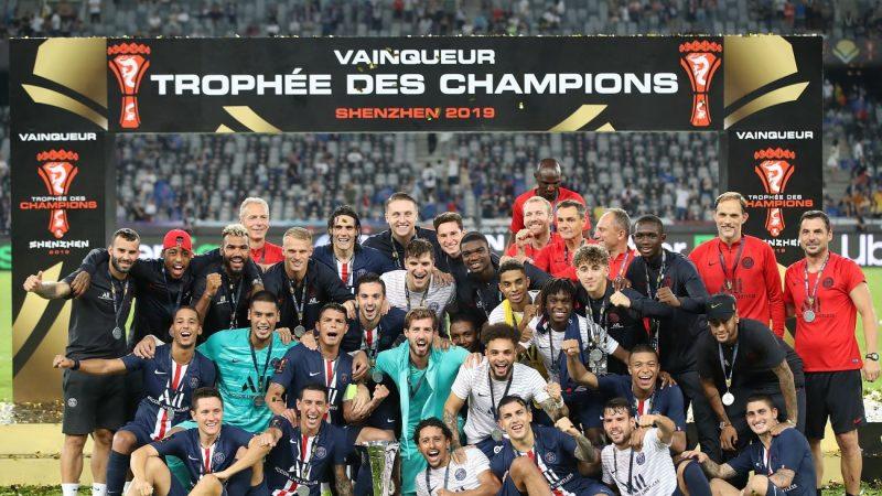 法国超级杯 巴黎圣日耳曼胜雷恩 获七连冠