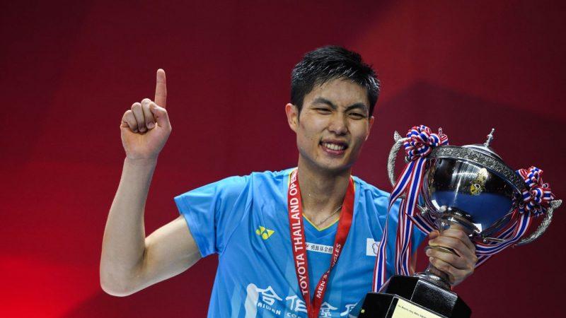 泰國羽球公開賽 周天成奪男單冠軍
