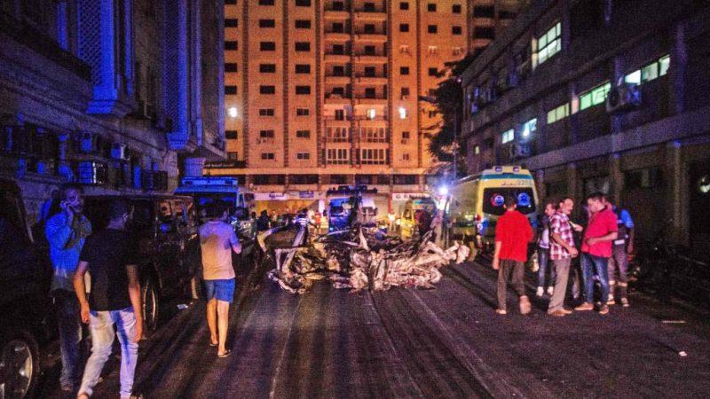 開羅汽車爆炸67死傷 埃及:原開往他地施恐襲