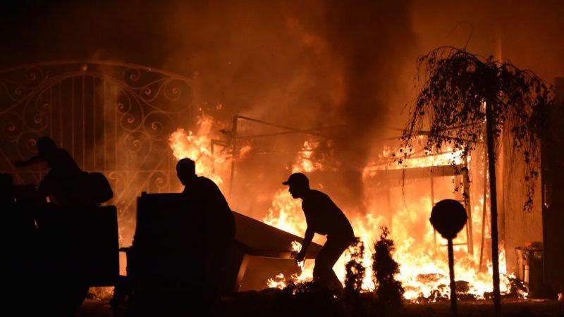 吉爾吉斯特種部隊拘捕前總統 寓所混戰槍砲轟隆響
