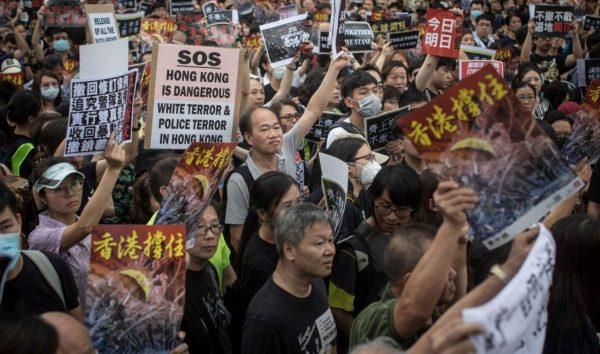 港府52部門逾千公務員 響應週一大罷工