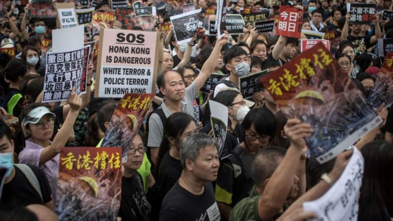 港府52部门逾千公务员 响应周一大罢工