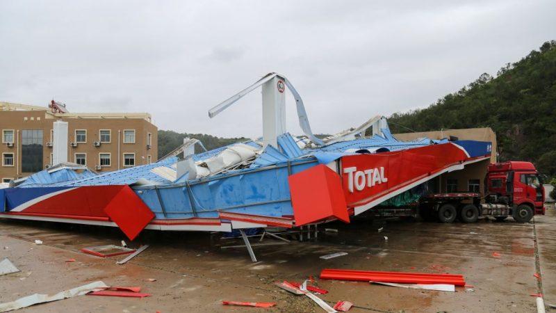 利奇馬颱風肆虐中國9省 千萬人受災8千房倒塌
