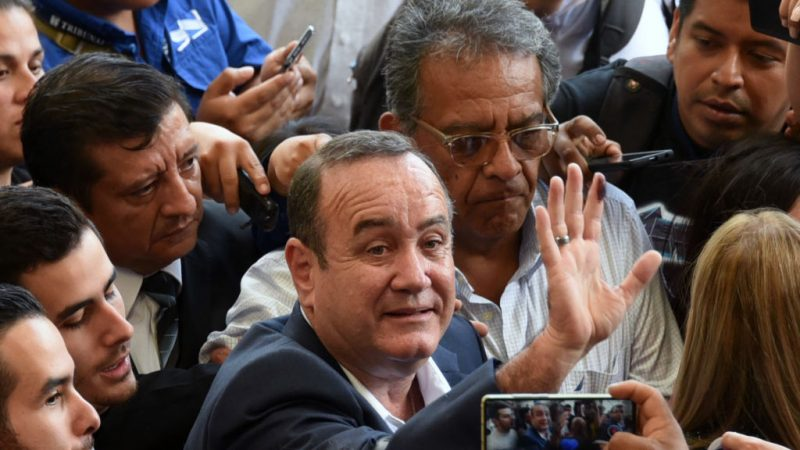 危地马拉总统第2轮决选 吉昂马岱宣布胜选