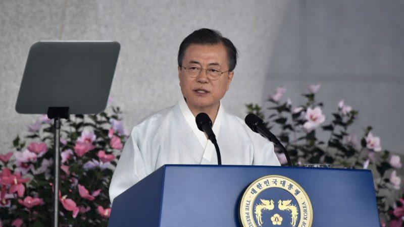 貿易戰籲對話 文在寅:如日本願意 會開心握手