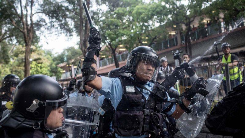费加罗报:大批陆警混入港警 林郑已失警队控制权