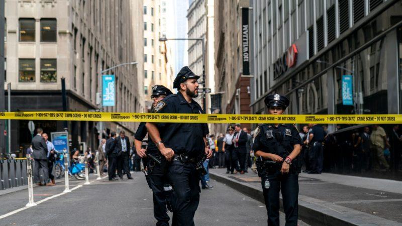 疑似爆裂物惊现纽约市 经查是空电锅虚惊一场