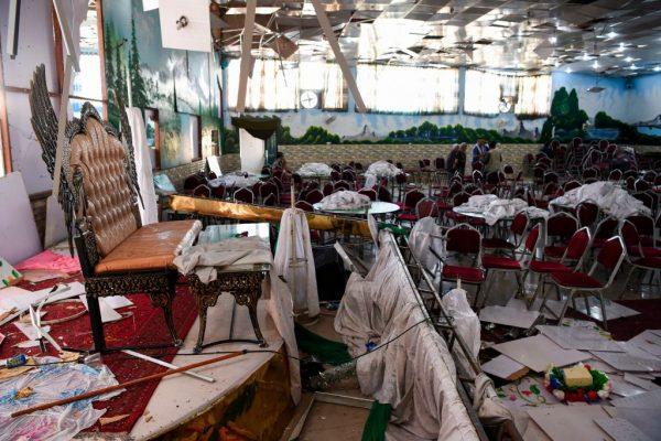 惨烈袭击 阿富汗一场婚宴遭自杀攻击酿245人死伤