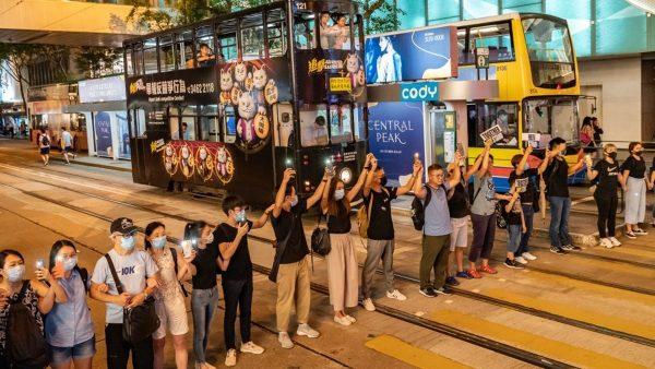 【新闻拍案惊奇】13.5万港人星光人链 狮子山顶美如北斗 香港反送中持续 习近平最新指示