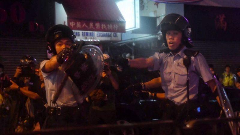 荃灣遊行爆激烈衝突 港警首度承認開槍