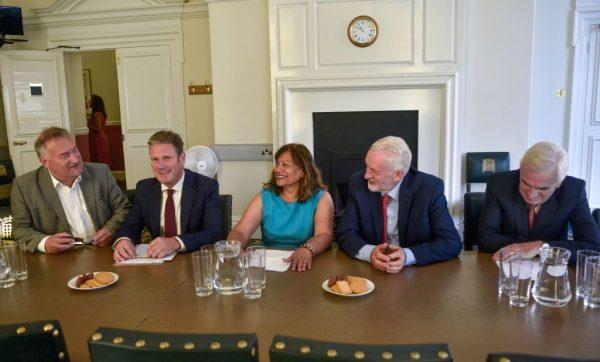 英國在野黨發聯合聲明 要合作防止無協議脫歐