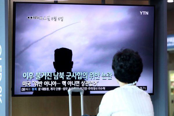 韩美联合军演 朝鲜17天内第5次发射飞弹
