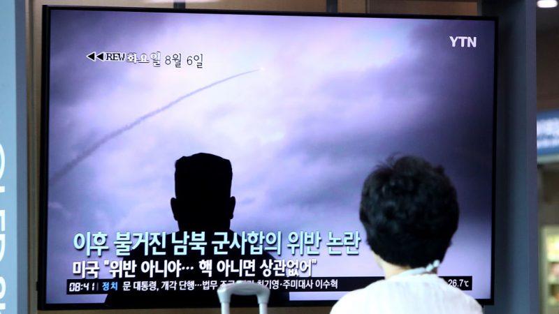 韓美聯合軍演 朝鮮17天內第5次發射飛彈