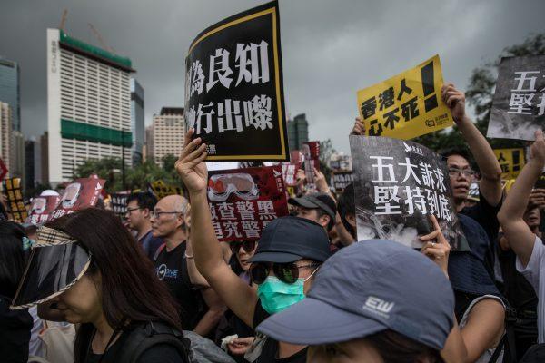 美媒:面對香港 北京的聲音已無人敢信